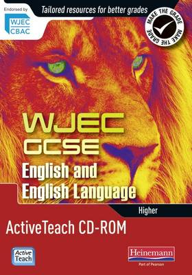 WJEC GCSE English ActiveTeach CD ROM 2 in 1 Pack: WJEC GCSE Eng AT CD 2 in 1 - WJEC GCSE English 2010