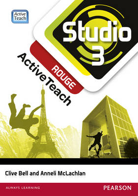 Studio 3 rouge ActiveTeach (11-14 French)CDROM - Studio (CD-ROM)