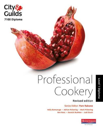 City & Guilds 7100 Diploma in Professional Cookery Level 1 Candidate Handbook, Revised Edition - ProActive Hospitality & Catering (Paperback)