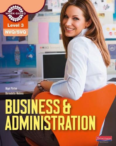 NVQ/SVQ Level 3 Business & Administration Candidate Handbook - NVQ Business and Administration (Paperback)