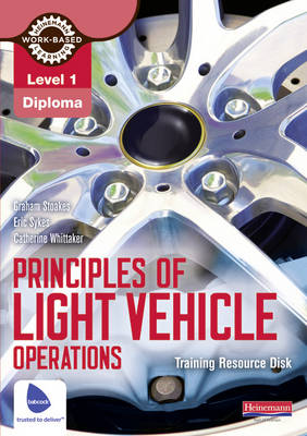 Level 1 Principles of Light Vehicle Operations Training Resource Disk - Light Vehicle Technology (CD-ROM)