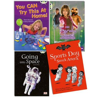 Learn to Read at Home with Bug Club Gold Pack (2 fiction and 2 non-fiction)