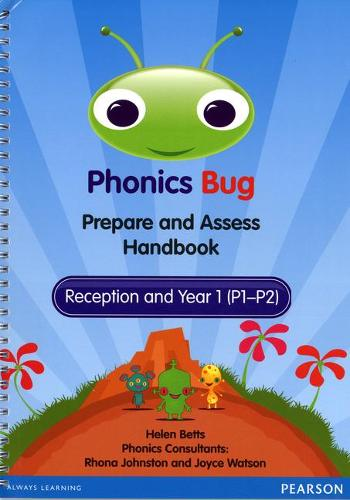 Phonics Bug Prepare and Assess Handbook - Phonics Bug (Spiral bound)