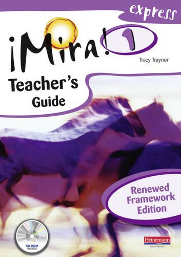 Mira Express 1 Teacher's Guide Renewed Framework Edition - Mira