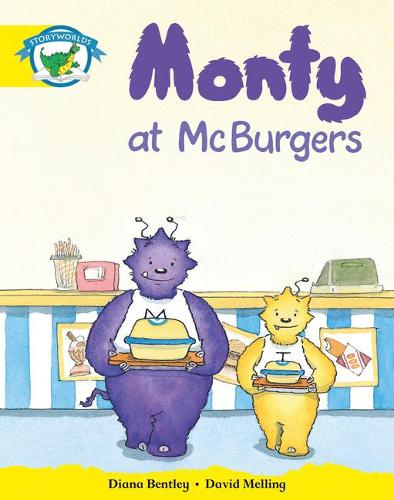 Literacy Edition Storyworlds Stage 2, Fantasy World, Monty at McBurgers - STORYWORLDS (Paperback)