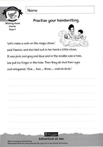 Literacy Edition Storyworlds Stage 9, Fantasy World, Workbook 8 Pack - STORYWORLDS