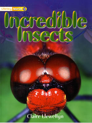 Literacy World Non-Fiction Stage 1 Incredible Insects - LITERACY WORLD NEW EDITION (Paperback)