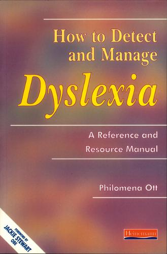 How To Detect and Manage Dyslexia - Detect and Manage Dyslexia (Paperback)