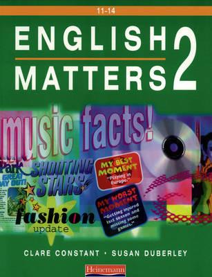 English Matters 11-14 Student Book 2 - English Matters (Paperback)