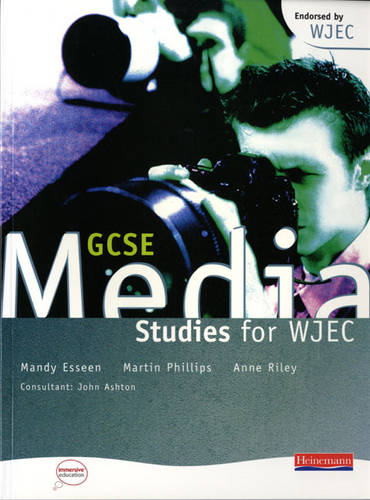 GCSE Media Studies for WJEC Student Book - WJEC GCSE Media Studies (Paperback)