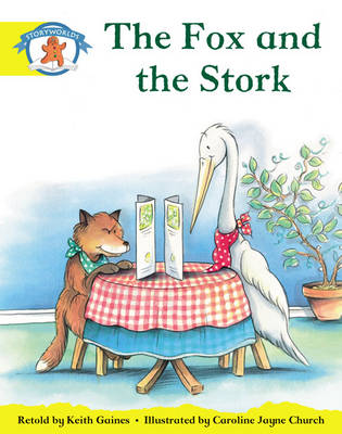 Storyworlds Reception/P1 Stage 2, Once Upon A Time World, The Fox and the Stork (6 Pack) - STORYWORLDS