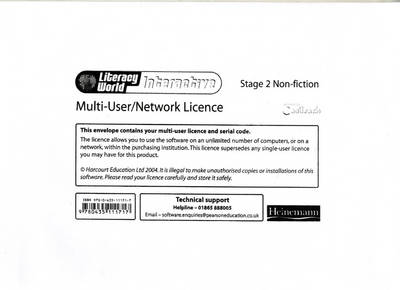 Literacy World Interactive Stage 2 Non-fiction Multi User Licence - LITERACY WORLD INTERACTIVE (Paperback)