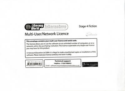 Literacy World: Interactive - Stage 4 Fiction Multi User Licence - Literacy World Interactive (Paperback)