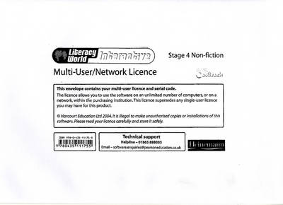 Literacy World Interactive Stage 4 Non-fiction Multi User Licence - LITERACY WORLD INTERACTIVE (Paperback)