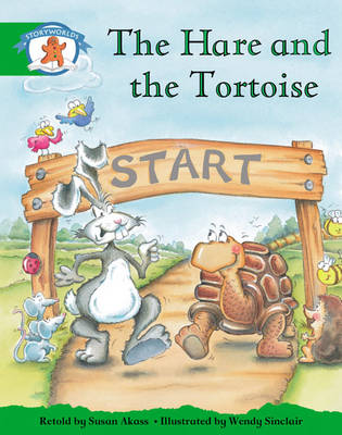 Storyworlds Reception/P1 Stage 3, Once Upon A Time World,The Hare and the Tortoise (6pack) - STORYWORLDS