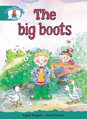 Storyworlds Yr1/P2 Stage 6, Our World, The Big Boots (6 Pack) - STORYWORLDS