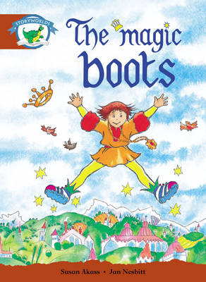 Literacy Edition Storyworlds Stage 7, Fantasy World, The Magic Boots 6 Pack - STORYWORLDS