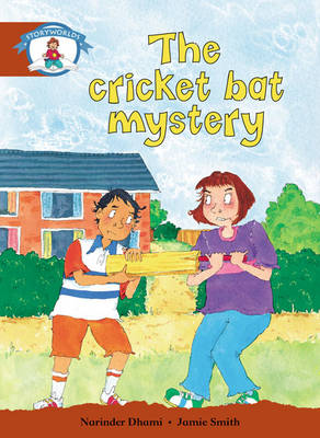 Literacy Edition Storyworlds Stage 7, Our World, The Cricket Bat Mystery 6 Pack - STORYWORLDS