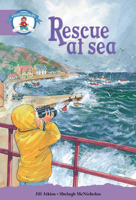 Literacy Edition Storyworlds Stage 8, Our World, Rescue at Sea 6 Pack - STORYWORLDS