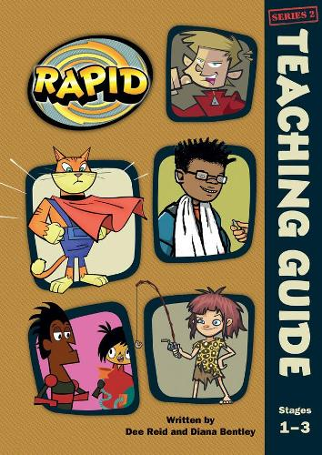 Rapid Stages 1-3 Teaching Guide (Series 2) - RAPID SERIES 2 (Spiral bound)