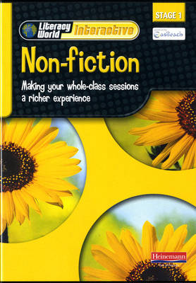 Literacy World Interactive Stage 1 Non-Fiction Single User Pack Version 2 Framework - LITERACY WORLD INTERACTIVE (CD-ROM)