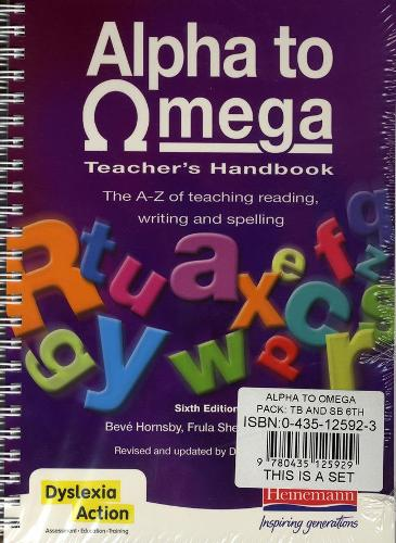 Alpha to Omega Pack: Teacher's Handbook and Student's Book 6th Edition - Alpha to Omega (Spiral bound)