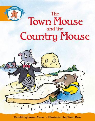 Literacy Edition Storyworlds Stage 4, Once Upon A Time World Town Mouse and Country Mouse (single) - STORYWORLDS (Paperback)