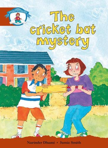 Literacy Edition Storyworlds Stage 7, Our World, The Cricket Bat Mystery - STORYWORLDS (Paperback)
