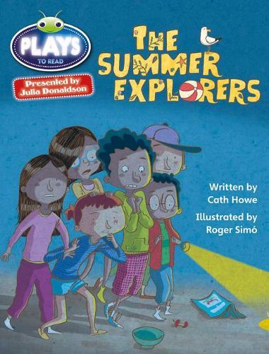 BC JD Plays Grey/3A-4C The Summer Explorers - BUG CLUB (Paperback)