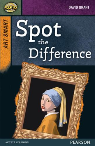 Rapid Stage 8 Set A: Art Smart: Spot the Difference - Rapid Upper Levels (Paperback)