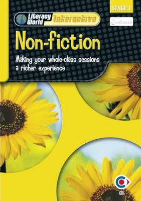 Literacy World Interactive Stage 1Non-Fiction: Software Single User Pack Scot/NI - LITERACY WORLD INTERACTIVE (CD-ROM)