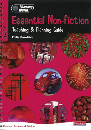 Literacy World Stage 2 Non Fiction: Essential Teaching & Planning Guide Scotland/NI - LITERACY WORLD NEW EDITION (Spiral bound)