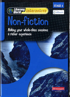 Literacy World Interactive Stage 4 Non-Fiction Multi User Pack Version 2 Framework - Literacy World Interactive