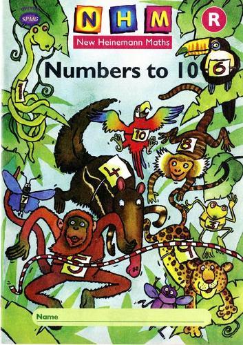 New Heinemann Maths: Reception: Numbers to 10 Activity Book (8 Pack) - NEW HEINEMANN MATHS