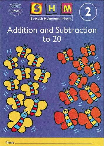Scottish Heinemann Maths 2: Addition and Subtraction to 20 Activity Book 8 Pack - SCOTTISH HEINEMANN MATHS