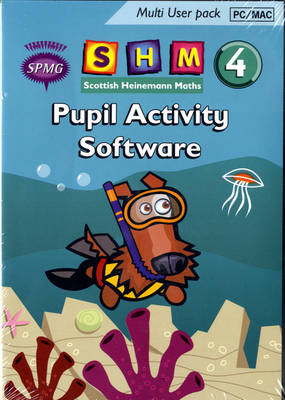 Scottish Heinemann Maths 4 Pupil Activity Software Multi User - Scottish Heinemann Maths (CD-ROM)
