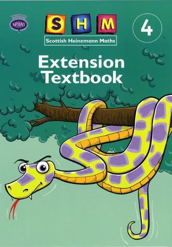 Scottish Heinemann Maths 4: Extension Textbook Single - SCOTTISH HEINEMANN MATHS (Paperback)