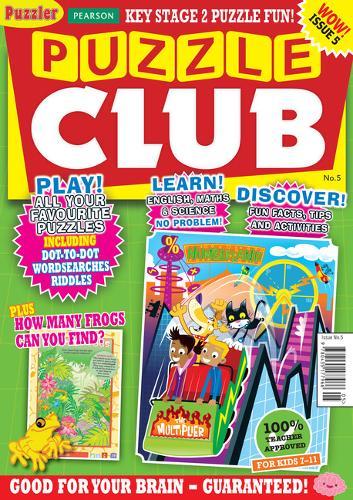 Puzzle Club issue 5 - Puzzler Media (Paperback)