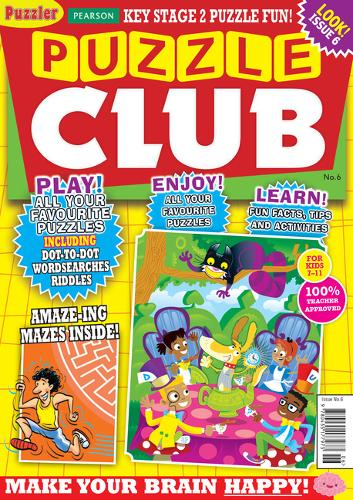 Puzzle Club issue 6 - Puzzler Media (Paperback)
