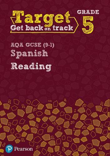 Target Grade 5 Reading AQA GCSE (9-1) Spanish Workbook - Modern Foreign Language Intervention (Paperback)