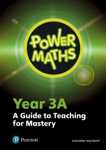 Power Maths Year 3 Teacher Guide 3A - Power Maths Print (Spiral bound)