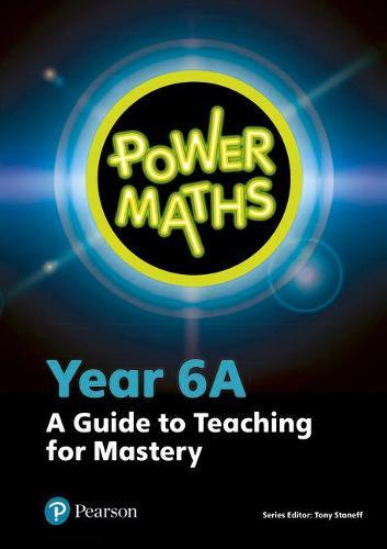 Power Maths Year 6 Teacher Guide 6A - Power Maths Print (Spiral bound)