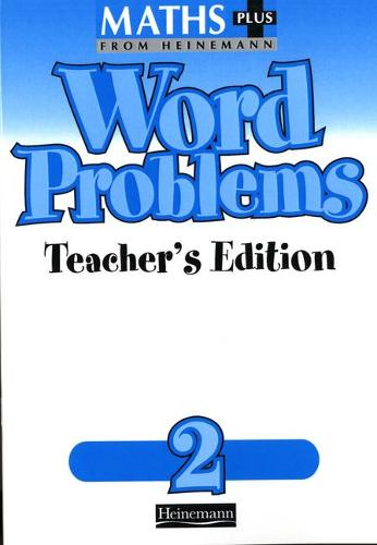 Maths Plus Word Problems 2: Teacher's Book - MATHS PLUS WORD PROBLEMS (Paperback)