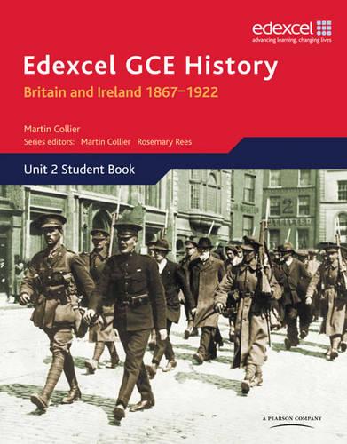 Edexcel GCE History AS Unit 2 D1 Britain and Ireland 1867-1922 - Edexcel GCE History (Paperback)
