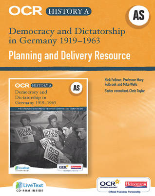 OCR A Level History A: Democracy & Dictatorship in Germany 1919-1963 Teacher LiveText CD-ROM - OCR A Level History A