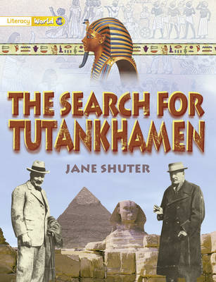 Literacy World Satellites Non Fict Stg 1 Guided Reading Card Search of Tutankhamen Fwk 6pk - Literacy World Satellites