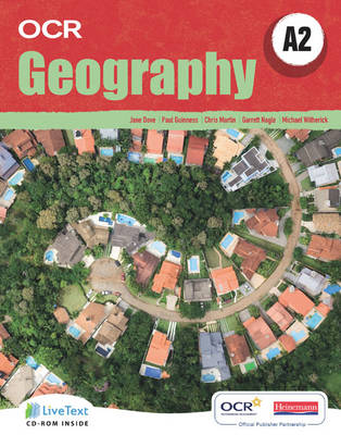A2 Geography For OCR Student Book With LiveText Students By Jane Dove Paul Guiness