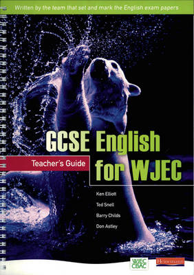 GCSE English for WJEC: Teachers Guide - GCSE English for WJEC