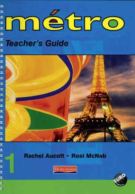 Metro 1 Teacher's Guide Euro Edition - Metro for Key Stage 3 (Spiral bound)