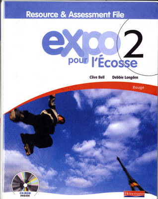 Expo Pour L'Ecosse 2 Rouge Resource and Assessment File (with CD-ROM & Audio CD) - Expo Pour l'Ecosse